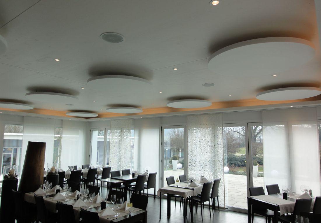 Restaurant Akustiklösung